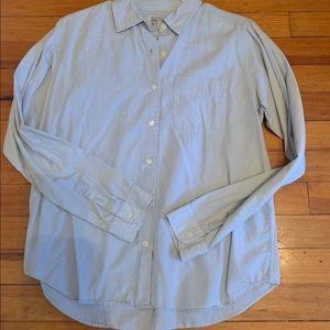 Abercrombie Chambray L/S woven Size L